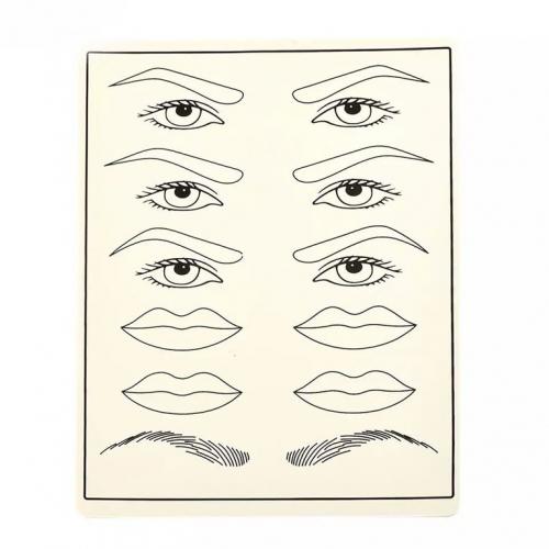 Кожа для практики (брови, губы)